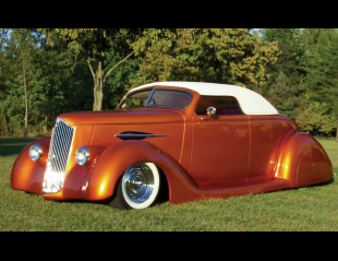 1936 FORD CUSTOM CONVERTIBLE STREET ROD -  - 15968