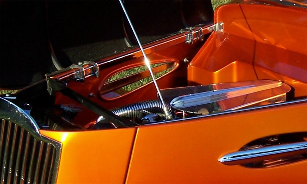 1936 FORD CUSTOM CONVERTIBLE STREET ROD - Engine - 15968