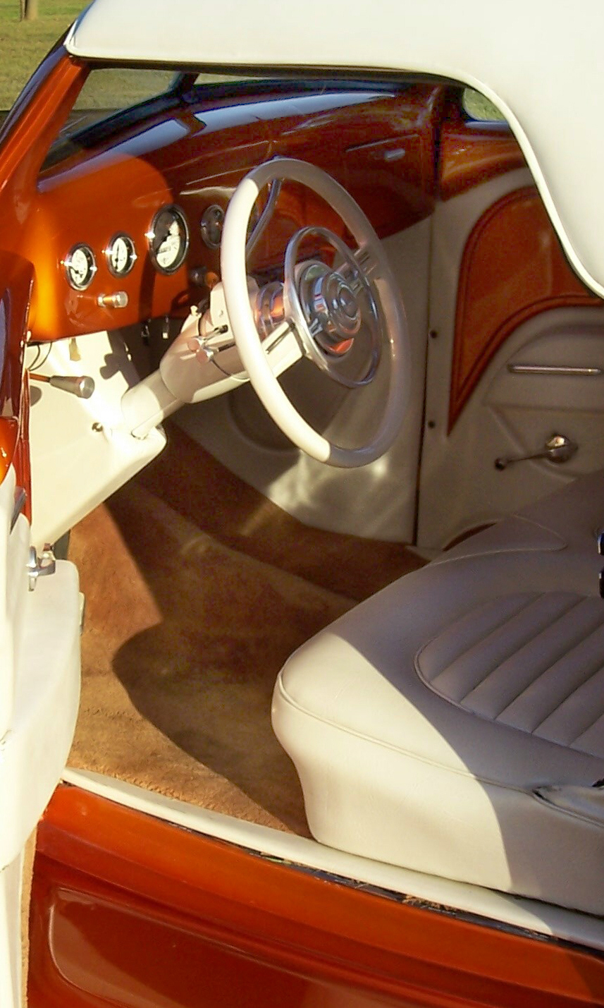 1936 FORD CUSTOM CONVERTIBLE STREET ROD - Interior - 15968