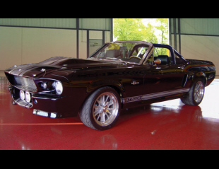 1968 FORD MUSTANG CONVERTIBLE SHELBY GT500E ELEAN -  - 15971