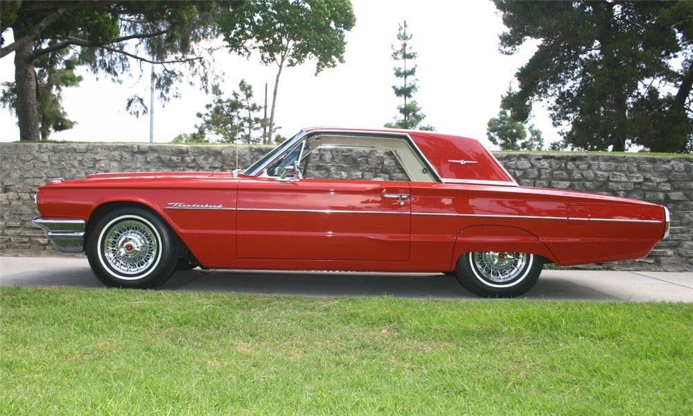 1964 FORD THUNDERBIRD 2 DOOR HARDTOP - 15973