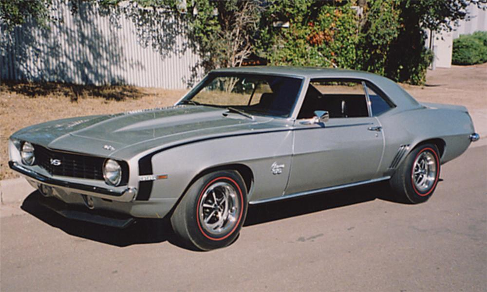 1969 CHEVROLET CAMARO SS COUPE - Front 3/4 - 15974