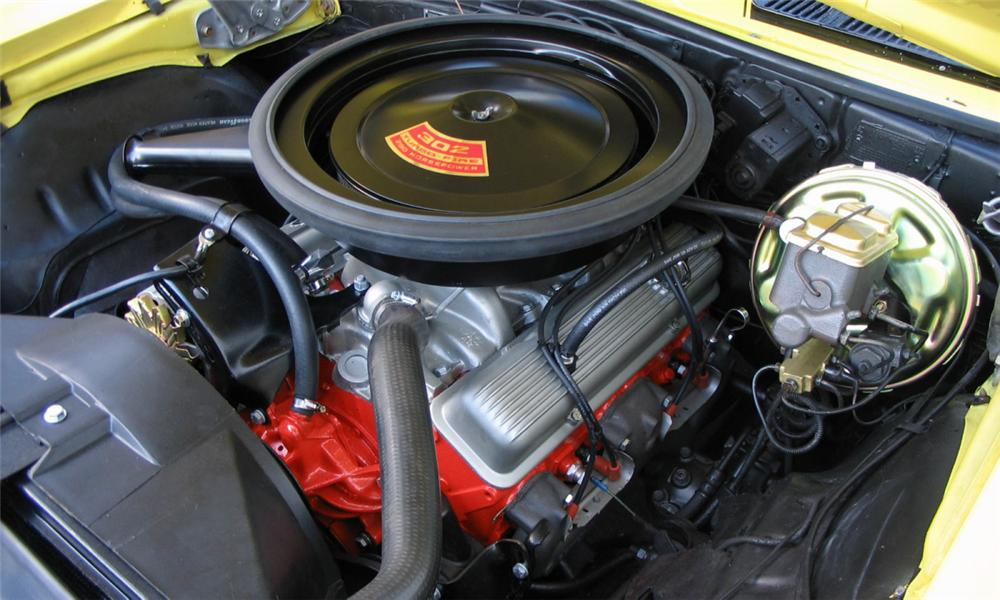 1969 CHEVROLET CAMARO Z/28 COUPE - Engine - 15978
