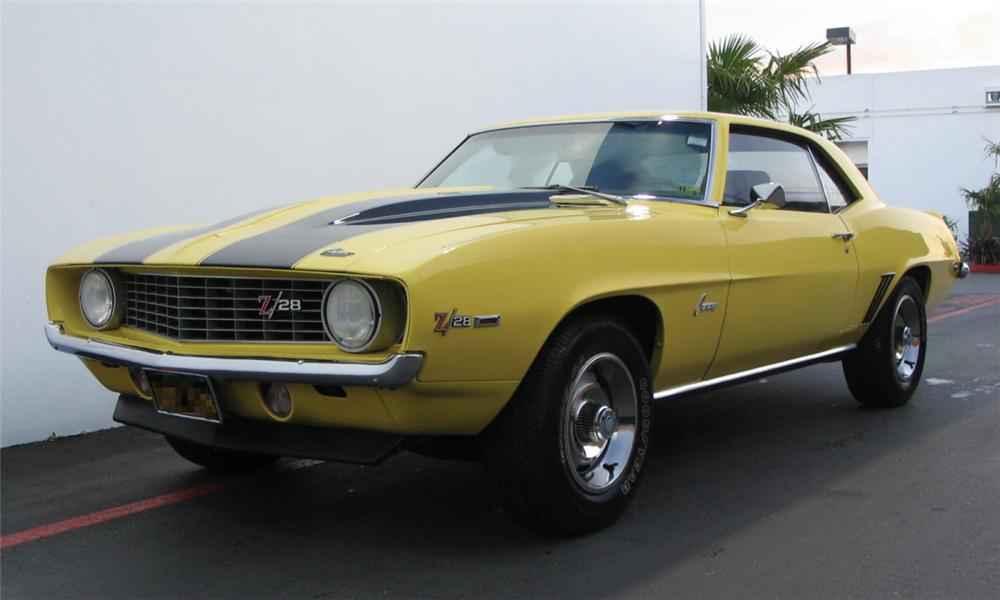 1969 CHEVROLET CAMARO Z/28 COUPE - Front 3/4 - 15978