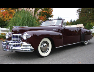 1947 LINCOLN CONTINENTAL CONVERTIBLE -  - 15980