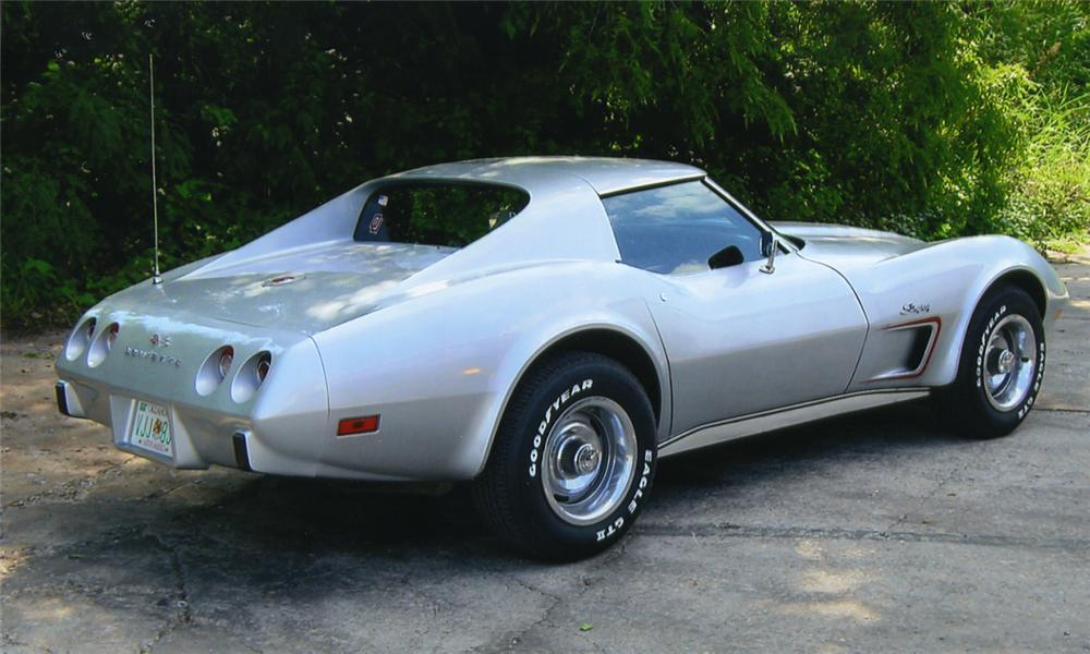 1975 chevrolet corvette stingray coupe rear 3 4 15985. Cars Review. Best American Auto & Cars Review