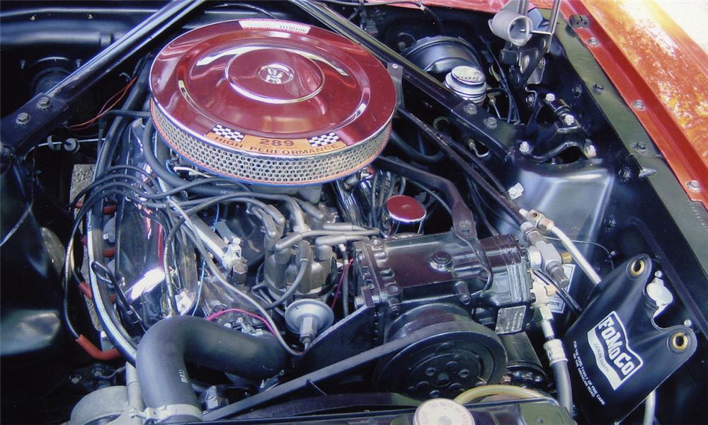 1965 FORD MUSTANG COUPE - Engine - 15987