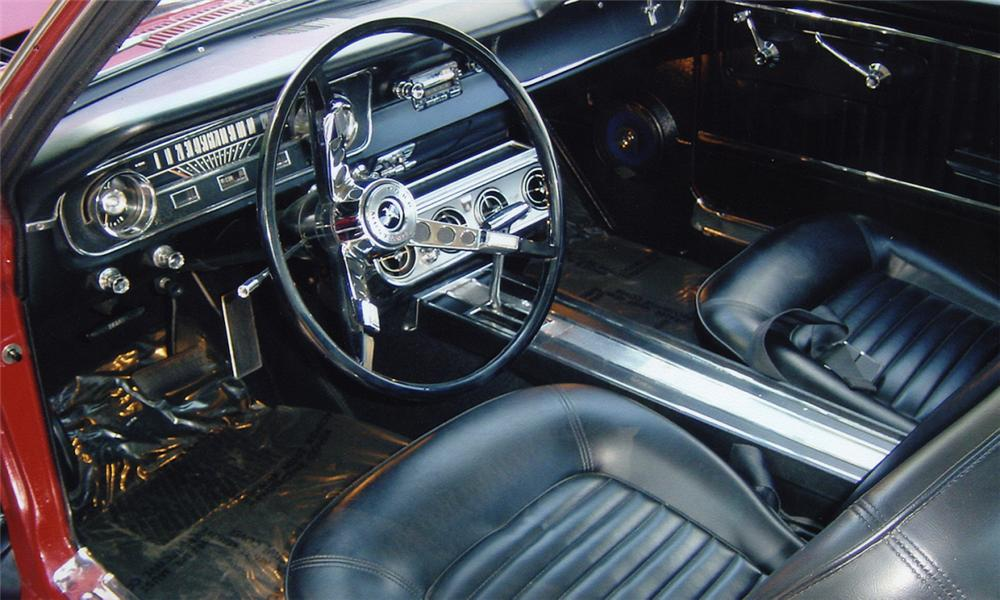 1965 FORD MUSTANG COUPE - Interior - 15987