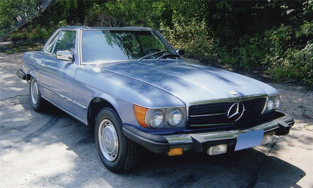 1977 MERCEDES-BENZ 450SL CONVERTIBLE - Front 3/4 - 15988