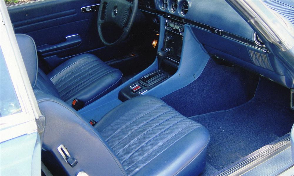 1977 MERCEDES-BENZ 450SL CONVERTIBLE - Interior - 15988