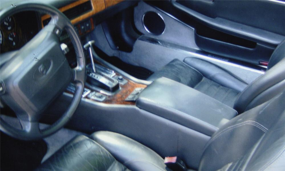 1992 JAGUAR XJS CONVERTIBLE - Interior - 15989