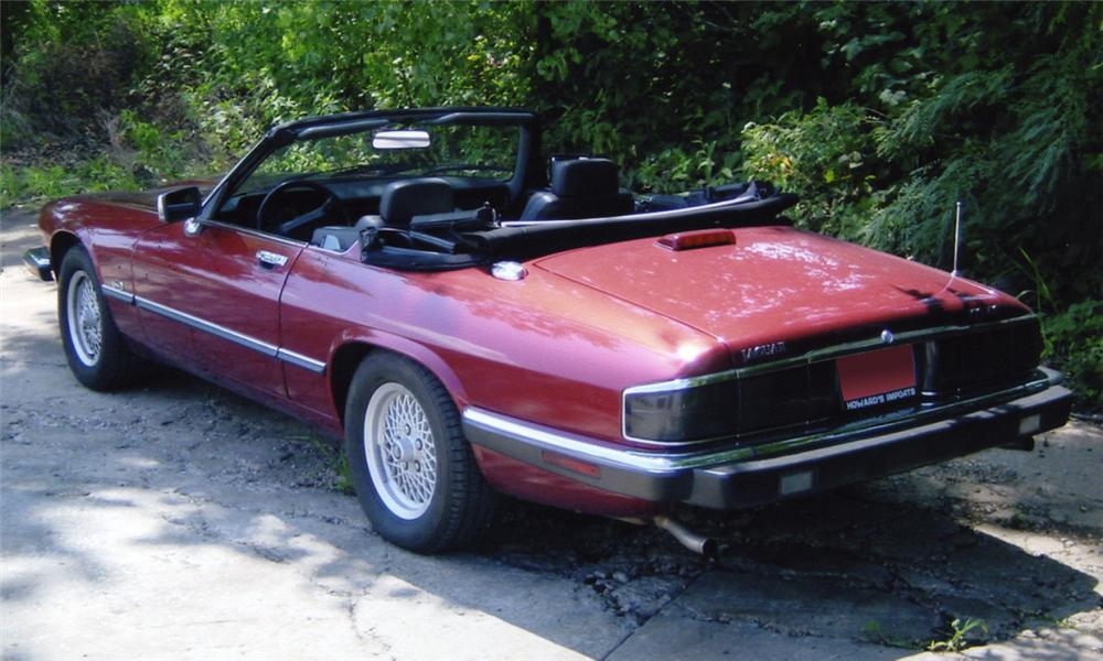 1992 JAGUAR XJS CONVERTIBLE - Rear 3/4 - 15989