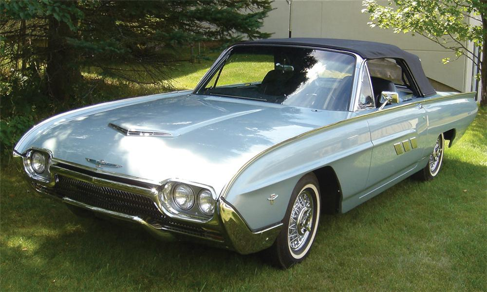 1963 FORD THUNDERBIRD SPORTS ROADSTER - Front 3/4 - 15990