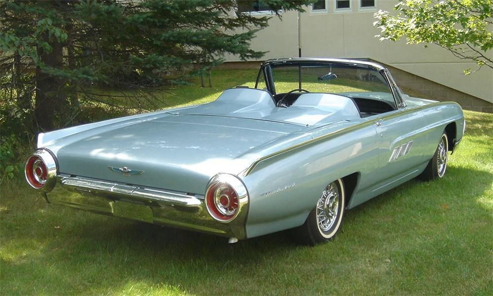 1963 FORD THUNDERBIRD SPORTS ROADSTER - Side Profile - 15990