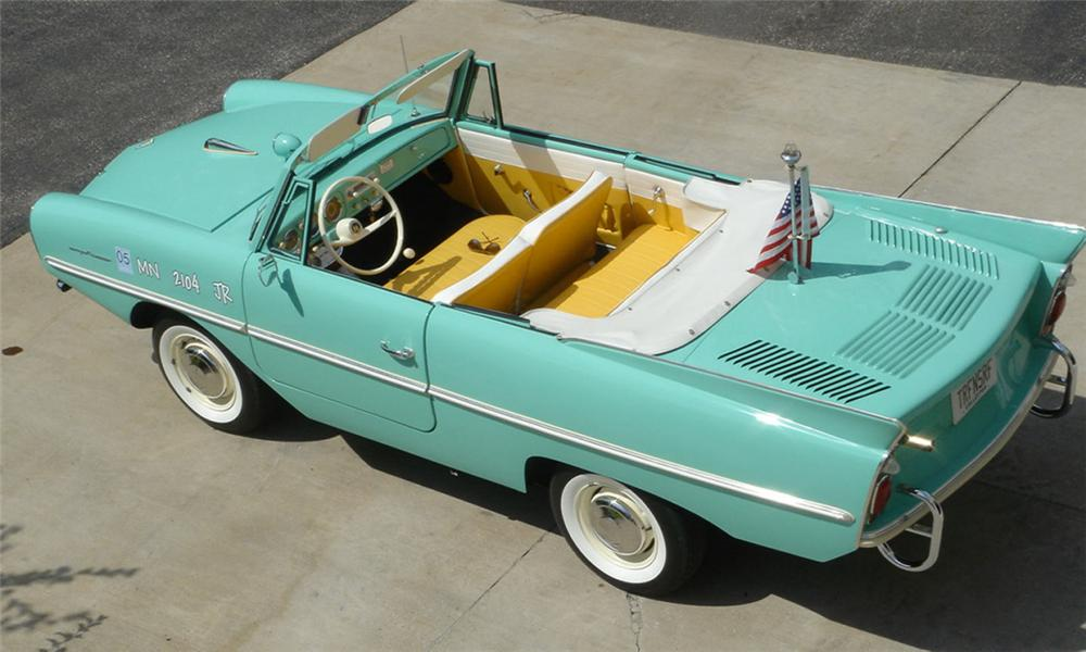 1964 AMPHICAR CONVERTIBLE - Interior - 15991