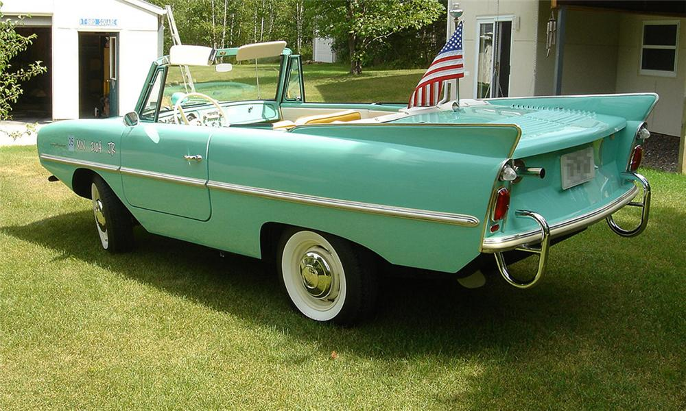 1964 AMPHICAR CONVERTIBLE - Rear 3/4 - 15991