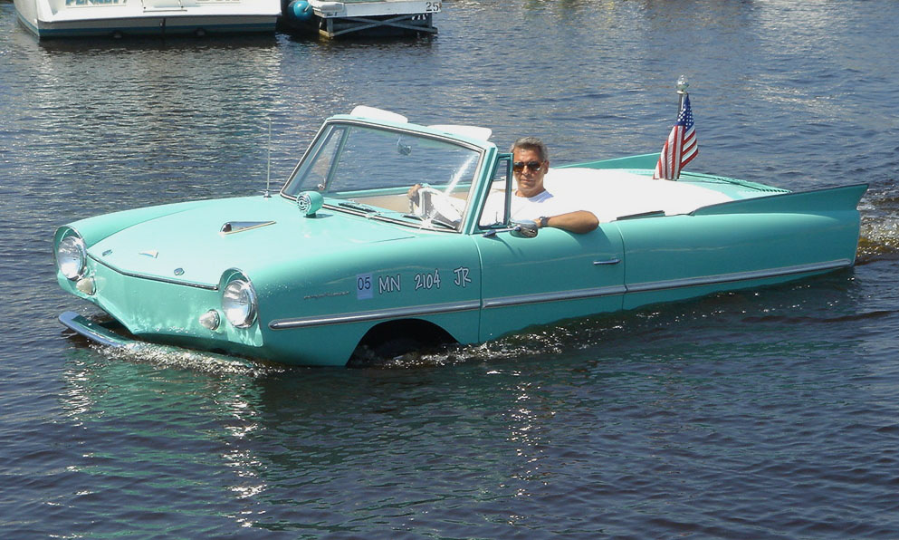1964 AMPHICAR CONVERTIBLE - Side Profile - 15991