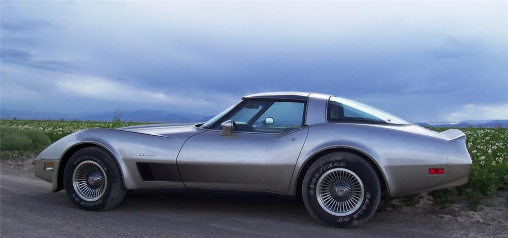 1982 CHEVROLET CORVETTE COUPE - Side Profile - 15994