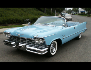 1957 CHRYSLER IMPERIAL CONVERTIBLE -  - 15996