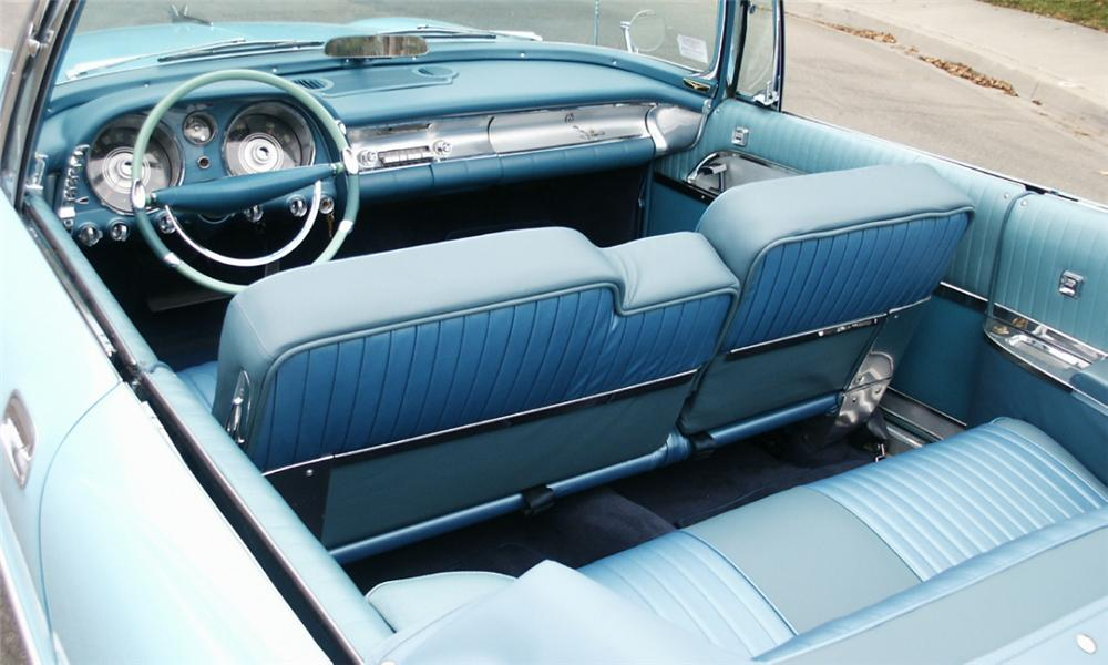1957 CHRYSLER IMPERIAL CONVERTIBLE - Interior - 15996