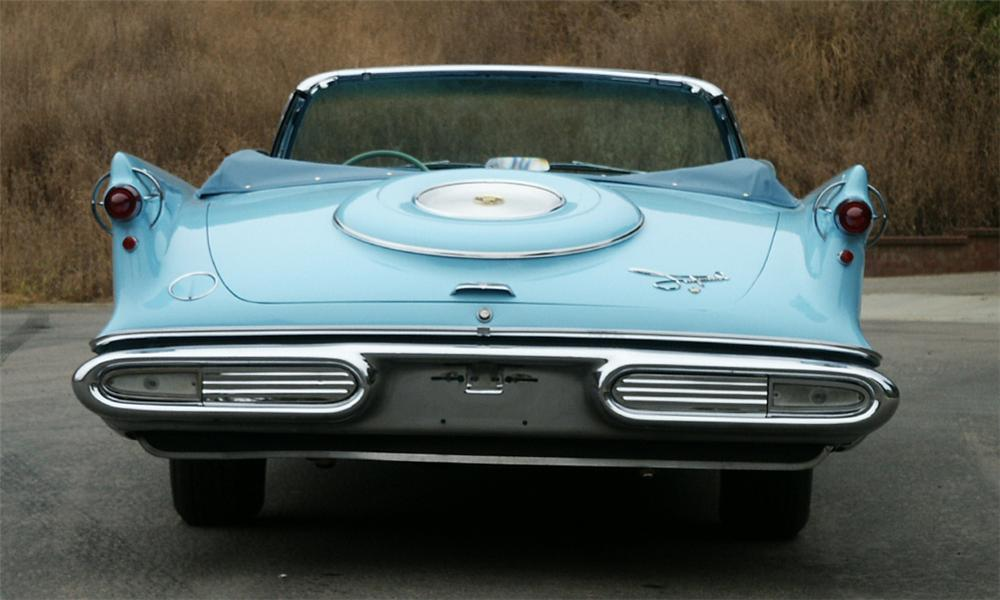 1957 CHRYSLER IMPERIAL CONVERTIBLE - Rear 3/4 - 15996