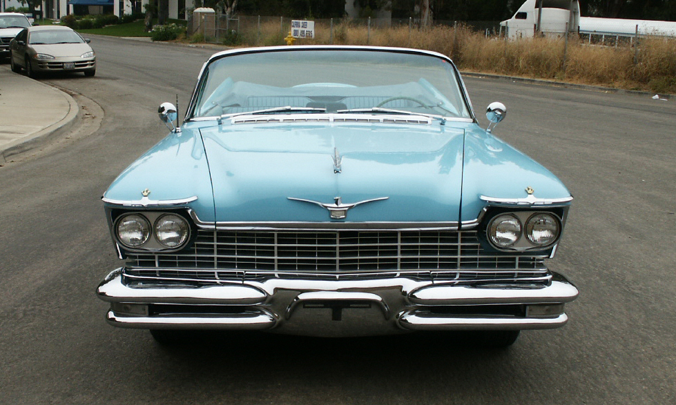 1957 CHRYSLER IMPERIAL CONVERTIBLE - Side Profile - 15996