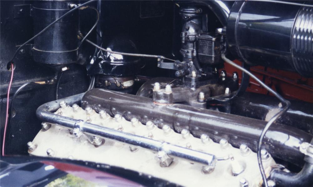 1936 LINCOLN K TOWNCAR - Engine - 16000