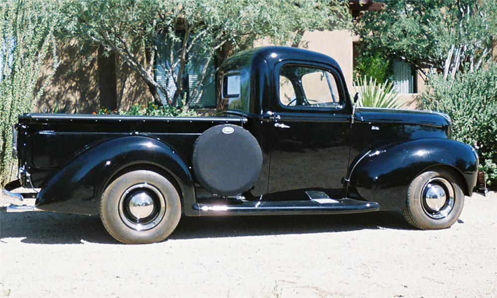 1940 FORD 1/2 TON PICKUP - Side Profile - 16007