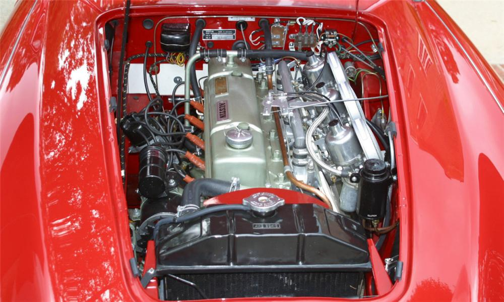 1962 AUSTIN-HEALEY 3000 MARK II ROADSTER - Engine - 16010