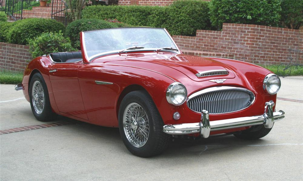 1962 AUSTIN-HEALEY 3000 MARK II ROADSTER - Front 3/4 - 16010