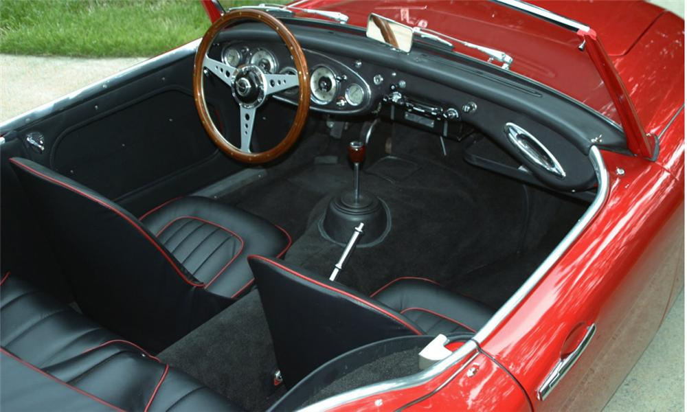 1962 AUSTIN-HEALEY 3000 MARK II ROADSTER - Interior - 16010