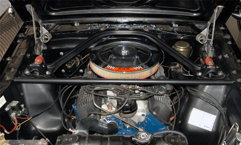 1966 SHELBY GT350 H FASTBACK - Engine - 16018