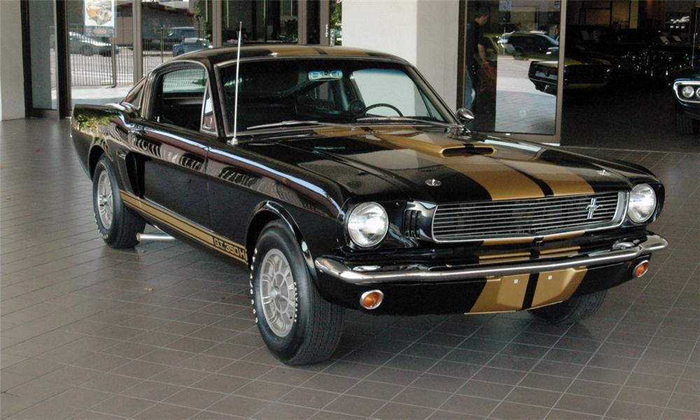 1966 SHELBY GT350 H FASTBACK - Front 3/4 - 16018