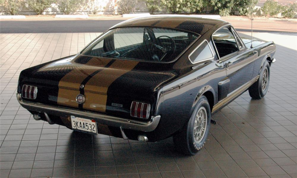 1966 SHELBY GT350 H FASTBACK - Rear 3/4 - 16018