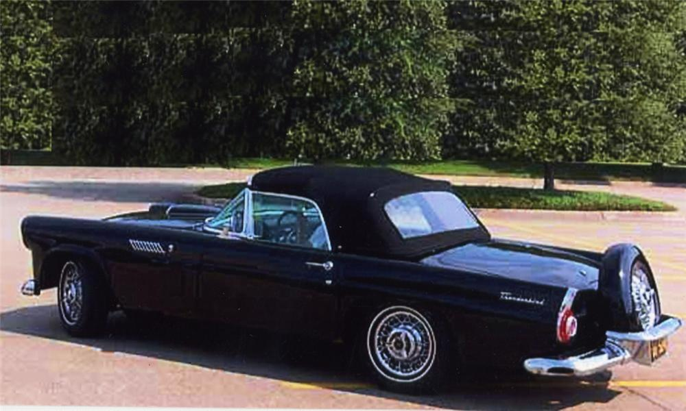 1956 FORD THUNDERBIRD CONVERTIBLE - Front 3/4 - 16022
