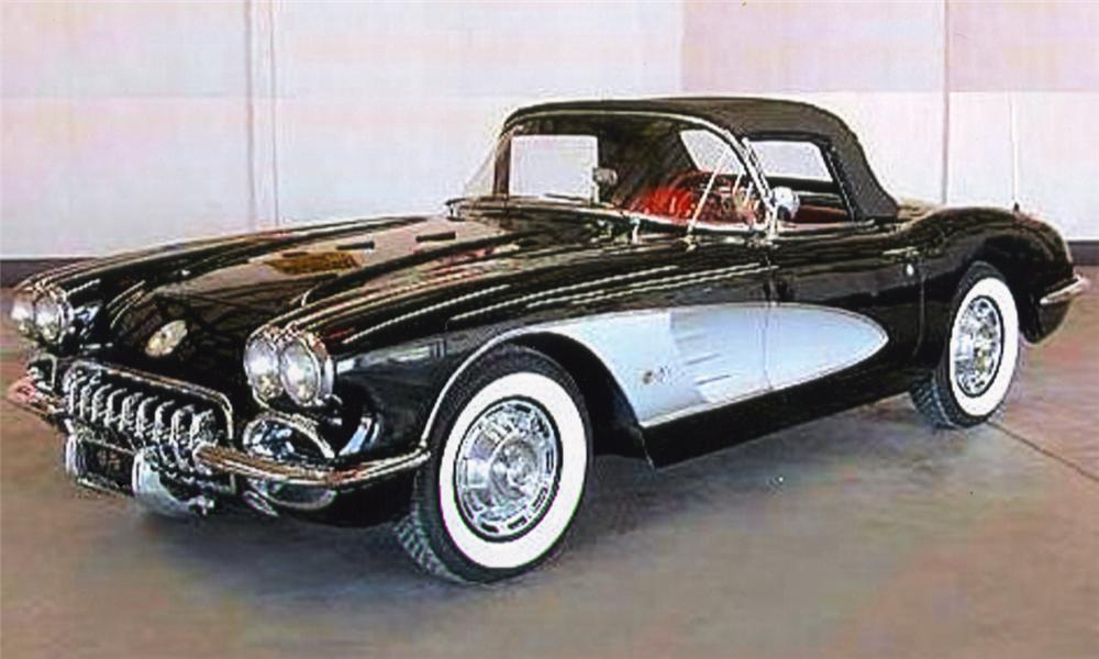 1959 chevrolet corvette convertible front 3 4 16024. Cars Review. Best American Auto & Cars Review
