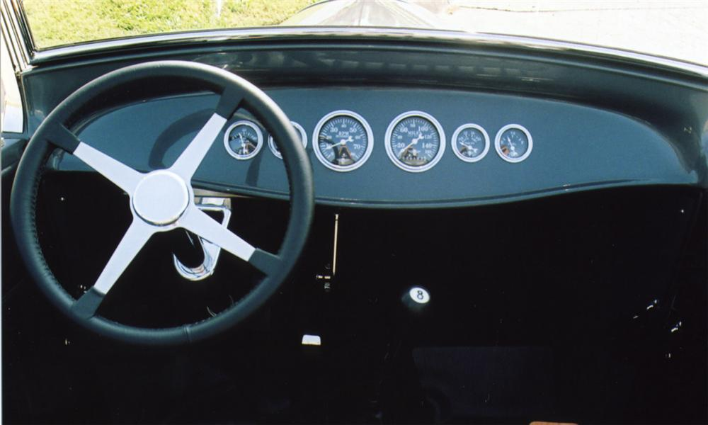 1929 FORD CUSTOM LAKES MODIFIED ROADSTER - Interior - 16041