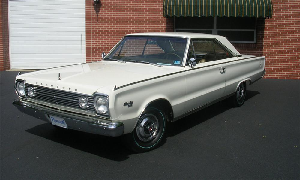 1966 PLYMOUTH HEMI SATELLITE 2 DOOR HARDTOP - Front 3/4 - 16042