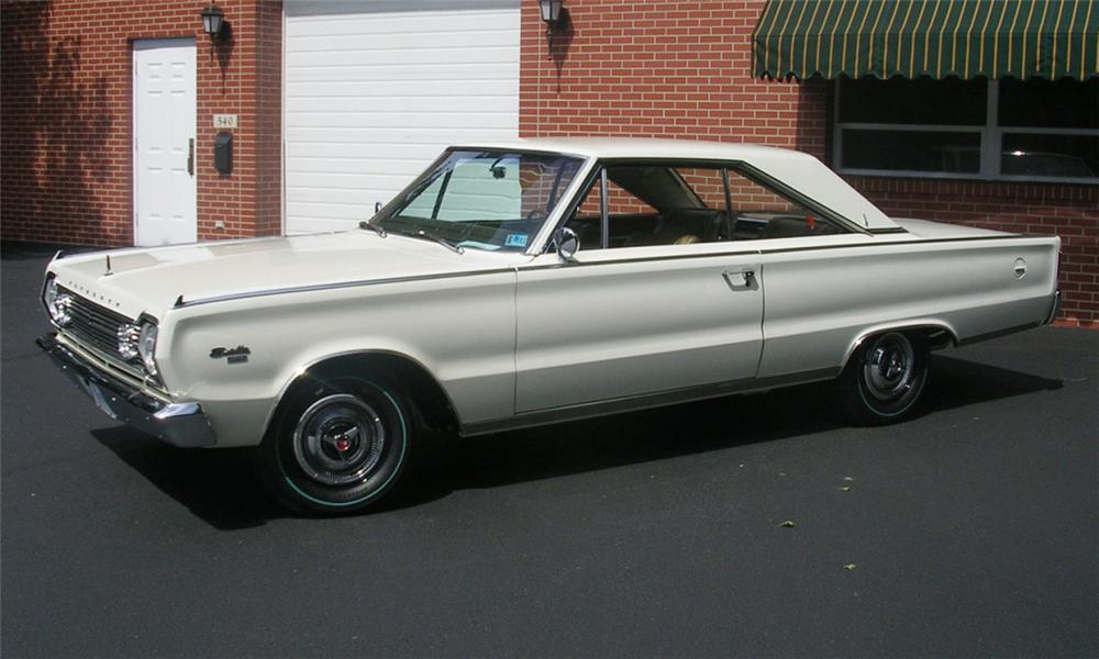 1966 PLYMOUTH HEMI SATELLITE 2 DOOR HARDTOP - Side Profile - 16042