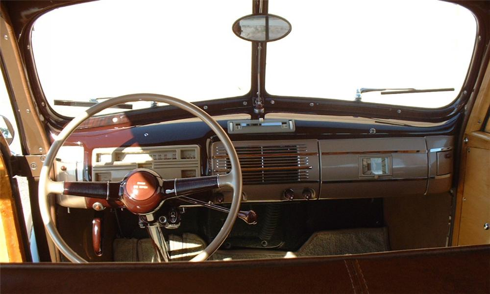 1940 FORD WOODY WAGON - Interior - 16050