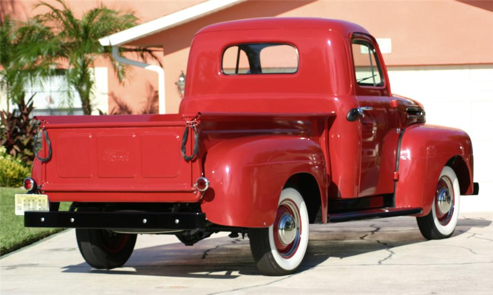 1950 Ford Vin Numbers