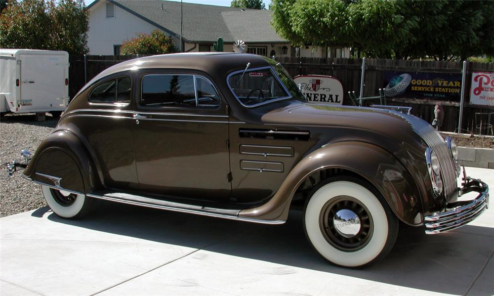 1934 Chrysler Airflow Cu 2 Door Coupe 16061