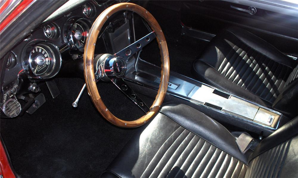 1967 ford mustang gta coupe interior 16062