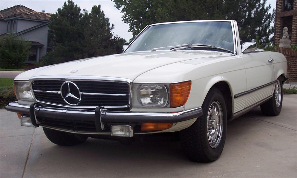 1973 MERCEDES-BENZ 450SL CONVERTIBLE - Front 3/4 - 16065