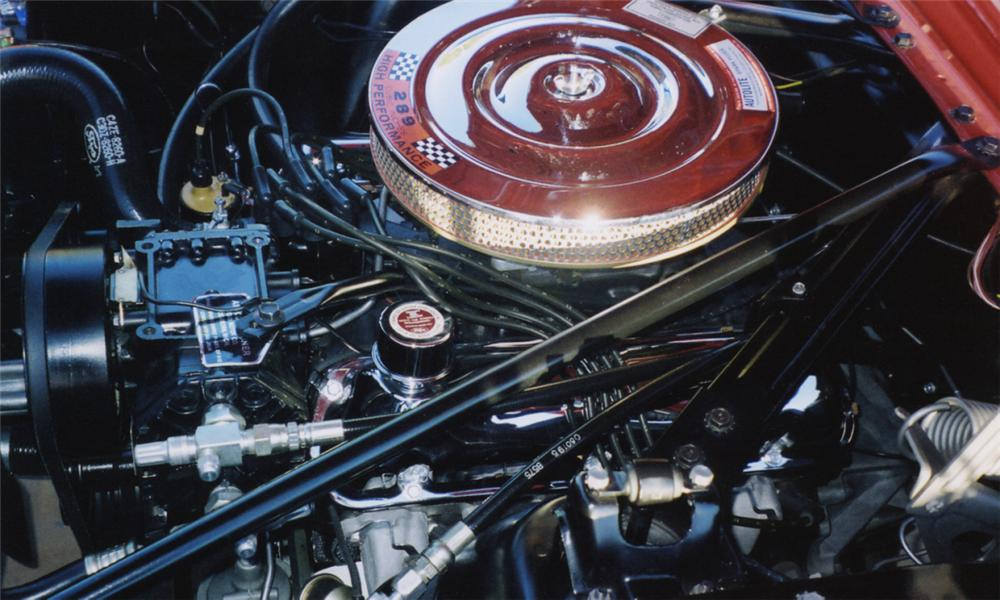 """1965 FORD MUSTANG CONVERTIBLE """"K"""" CODE - Engine - 16067"""