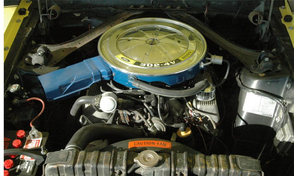 1970 FORD MUSTANG BOSS 302 FASTBACK - Engine - 16068