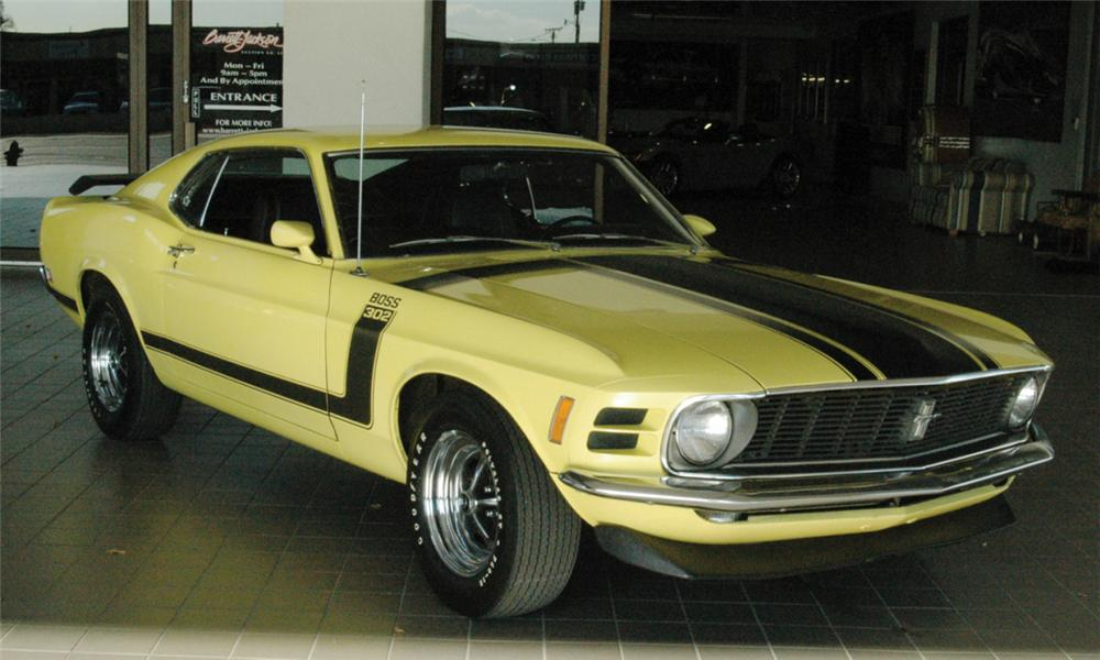 1970 FORD MUSTANG BOSS 302 FASTBACK - Front 3/4 - 16068