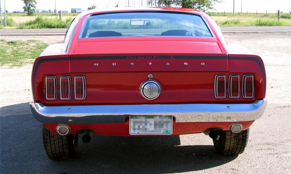 1969 FORD MUSTANG MACH 1 FASTBACK - Engine - 16075