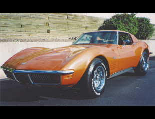 1972 CHEVROLET CORVETTE COUPE -  - 16077