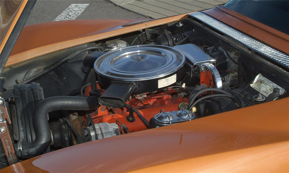 1972 CHEVROLET CORVETTE COUPE - Engine - 16077